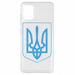 Чохол для Samsung A51 Герб України з рамкою