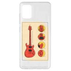 Чохол для Samsung A51 Гітара
