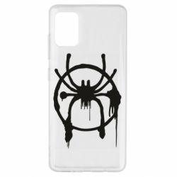 Чохол для Samsung A51 Graffiti Spider Man Logo