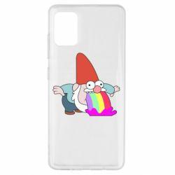 Чохол для Samsung A51 Gravity Falls, dwarf and rainbow