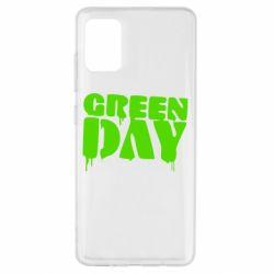 Чехол для Samsung A51 Green Day