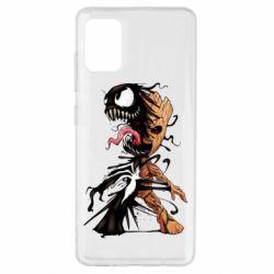 Чохол для Samsung A51 Groot and Venom