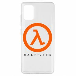 Чехол для Samsung A51 Half-life logotype