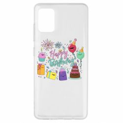 Чохол для Samsung A51 Happy Birthday