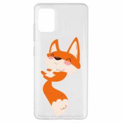 Чехол для Samsung A51 Happy fox