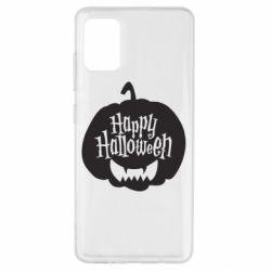 Чохол для Samsung A51 Happy halloween smile