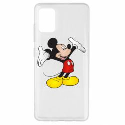 Чохол для Samsung A51 Happy Mickey Mouse
