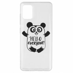 Чехол для Samsung A51 Happy panda