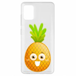 Чехол для Samsung A51 Happy pineapple