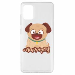 Чехол для Samsung A51 Happy pug