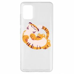 Чохол для Samsung A51 Happy tiger