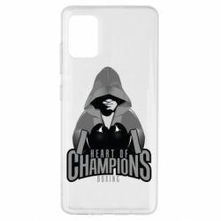 Чехол для Samsung A51 Heart of Champions
