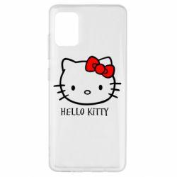 Чехол для Samsung A51 Hello Kitty