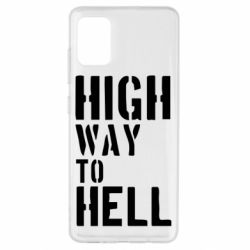 Чехол для Samsung A51 High way to hell