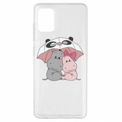 Чохол для Samsung A51 Hippos