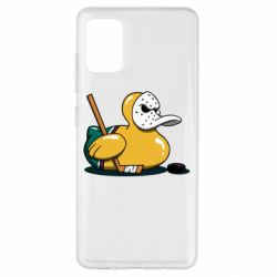 Чохол для Samsung A51 Hockey duck