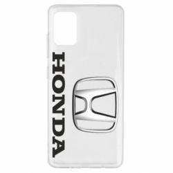 Чехол для Samsung A51 Honda 3D Logo