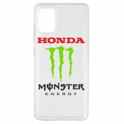 Чехол для Samsung A51 Honda Monster Energy