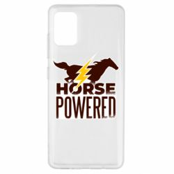 Чехол для Samsung A51 Horse power