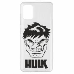 Чохол для Samsung A51 Hulk face
