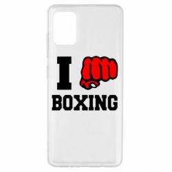 Чехол для Samsung A51 I love boxing