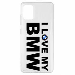 Чохол для Samsung A51 I love my BMW
