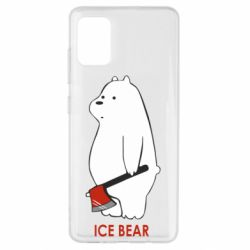 Чохол для Samsung A51 Ice bear