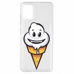 Чохол для Samsung A51 Ice cream graffiti