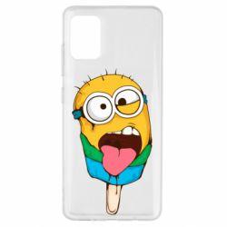 Чехол для Samsung A51 Ice cream minions