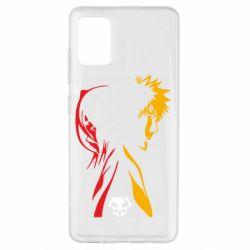 Чехол для Samsung A51 Ichigo and Rukia