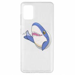 Чехол для Samsung A51 Ikea Shark Blahaj
