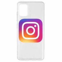 Чохол для Samsung A51 Instagram Logo Gradient