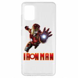 Чохол для Samsung A51 Iron Man 2