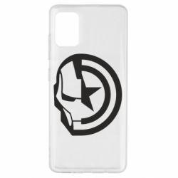 Чохол для Samsung A51 Iron Man and Captain America