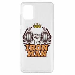 Чохол для Samsung A51 Iron man and sports