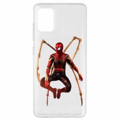 Чохол для Samsung A51 Iron man spider
