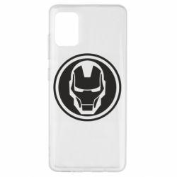 Чохол для Samsung A51 Iron man symbol