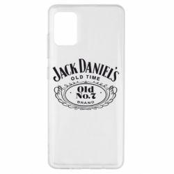 Чехол для Samsung A51 Jack Daniel's Old Time