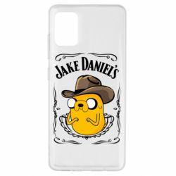 Чохол для Samsung A51 Jack Daniels Adventure Time