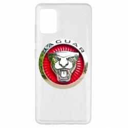 Чехол для Samsung A51 Jaguar emblem