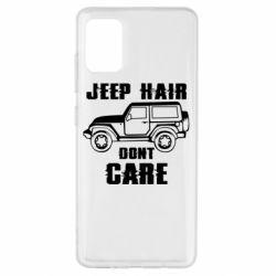 Чохол для Samsung A51 Jeep hair don't care