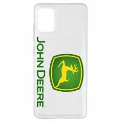 Чохол для Samsung A51 John Deere logo