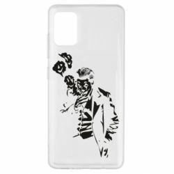 Чехол для Samsung A51 Joker smokes and smiles
