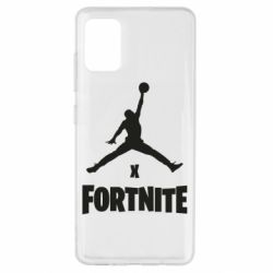 Чехол для Samsung A51 JORDAN FORTNITE