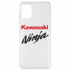 Чехол для Samsung A51 Kawasaki Ninja