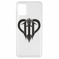 Чехол для Samsung A51 Kingdom Hearts logo
