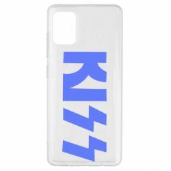 Чехол для Samsung A51 Kiss Logo