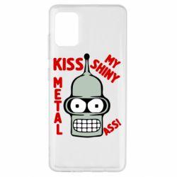 Чехол для Samsung A51 Kiss metal