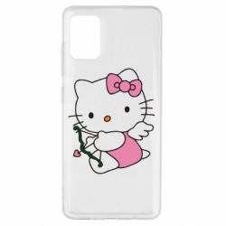 Чохол для Samsung A51 Kitty амурчик