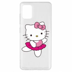 Чехол для Samsung A51 Kitty балярина